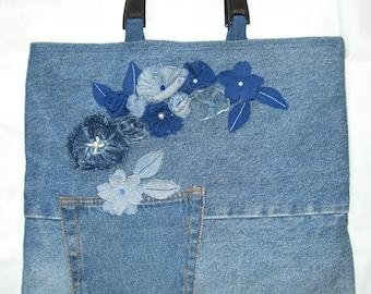 Recycled Denim Handbag