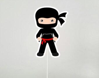 Ninja Cake Topper