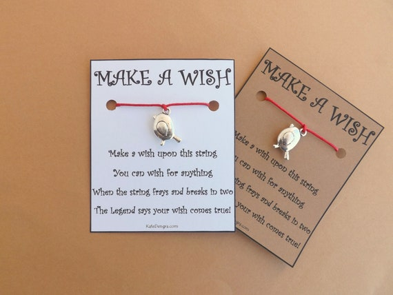 Robin Bird Wish Bracelet
