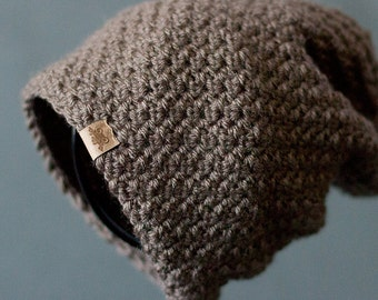 CROCHET PATTERN - Voyager Crochet Slouchy Hat Pattern - Crochet Hat Pattern - Crochet Pattern Sizes Baby to Adult - Easy Crochet Pattern