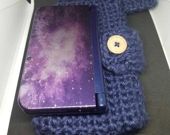 3DS crochet case/carrier pouch