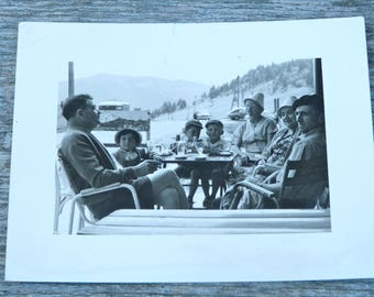 Vintage 1950s/1960s real photography  black & white / Family holidays