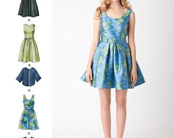 Simplicity Pattern 1873 Misses' & Miss Petite Dresses