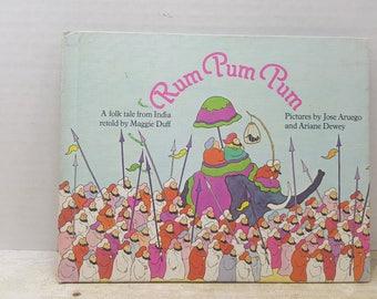 Rum Pum Pum, 1978, Maggie Duff, Jose Aruego, vintage kids book, folk tale from India