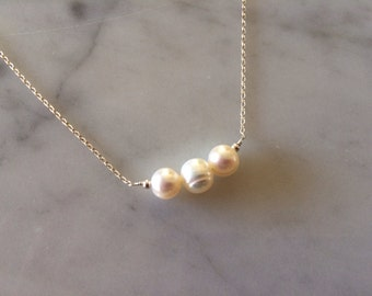 Freshwater Pearl Arden Necklace