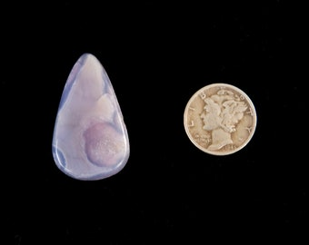 Holley Blue Agate Cabochon from Oregon