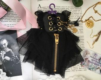 Blythe Dress /black dress for Blythe/Gothic dress Blythe
