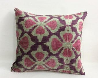 İkat Pillow Case -  15'' x 16'' Decorative Pillows For Couch Sofa Pillows Lumbar Pillow Decorative Cushion Modern Pillow Cover, Soft color