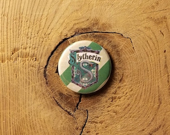 "Slytherin (1-1/4"" Pinback Button or Magnet)"