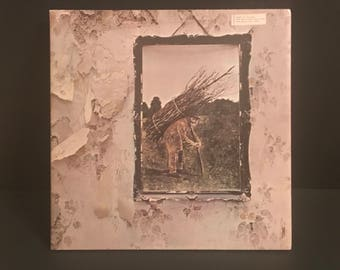 Led Zeppelin IV Record Vinyl LP