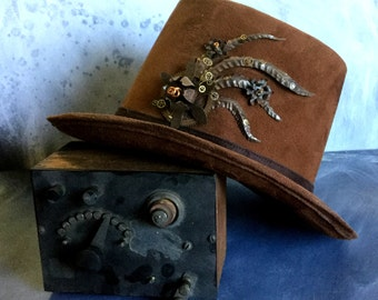 Engineers Steampunk TopHat with Fantastic adornments
