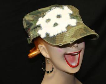 Skull Cadet Hat