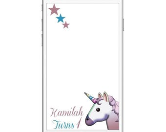 Magical Unicorn Snapchat Filter! (READ Item details)