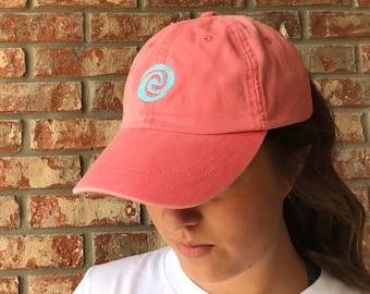 Moana swirl dad hat, baseball hat