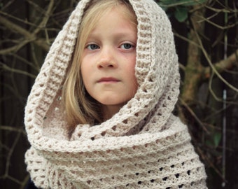 Download Now - CROCHET PATTERN Chic Infinity Scarf - Child and Adult - Pattern PDF