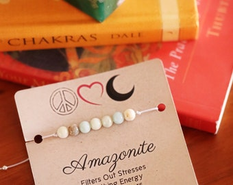 Amazonite Fertility Wish Bracelet