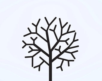 Vinyl Wall Decal Sticker Tree Branches 740