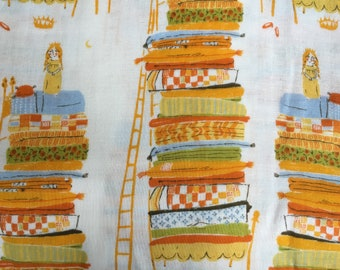 Original FAR FAR AWAY by Heather Ross for Kokka - Princess and the Pea
