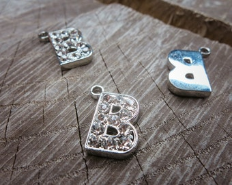 Letter B Pendant Charms ~1 pieces #100590