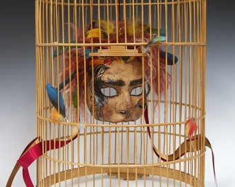 Papageno Mask, from Mozart's Magic Flute