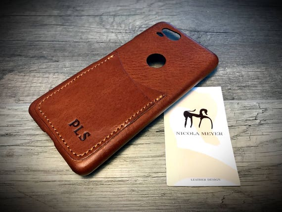 NEW Google Pixel 2 small and Pixel rev. 1 small Italian Leather Case 2 card slot vertical  to use as protection Choose the Device and Color