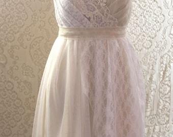 Custom -- A Simple Reception Dress by AsA