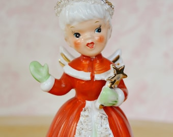 Vintage 1956 Holiday Angel Bell by Napco