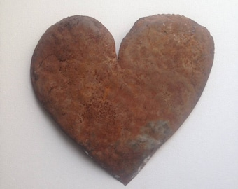 Rusted Tin Heart
