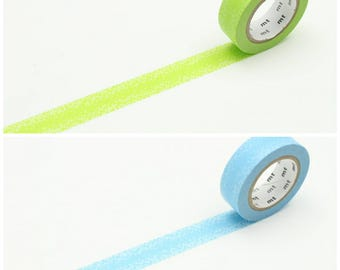 mt 2017 SS DECO series, water drop washi tape, gradient washi tape, green washi tape, blue washi tape