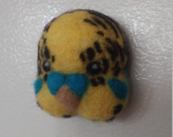 Needlefelted Budgie Decorative Magnets