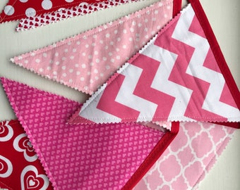 Valentine Sweetheart Pennant Banner