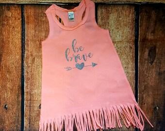 Fringe Dress with saying or monogram