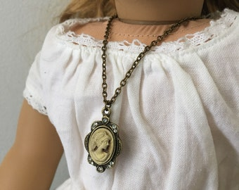 """Cameo 18"""" Doll Necklace"""