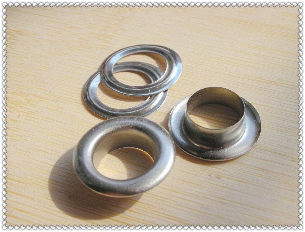 17mm (inner diameter )nickel eyelets grommets 30pcs G85