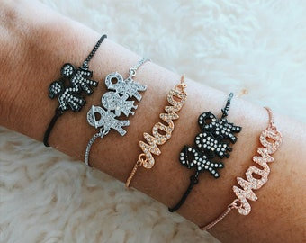 CrystalDust Mothers Day Bracelet