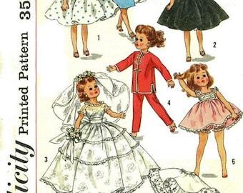 """Wardrobe for 10-1/2"""" Little Miss Revlon and Miss Ginger Type Dolls"""