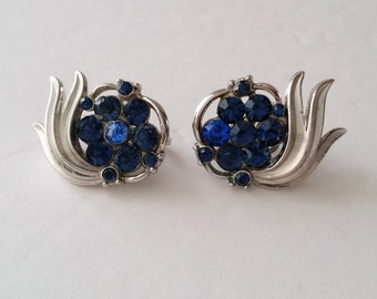Crown TRIFARI Alfred Philippe Clip On Earrings