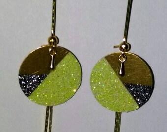 Glitter earrings