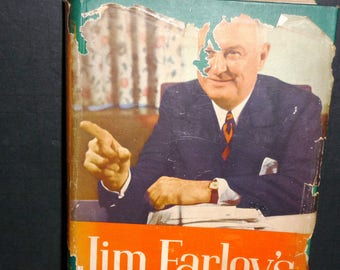 Jim Farley's Story - The Roosevelt Years- 4th printing -1948 book