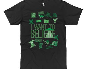 X-Files - I Want To Believe - t-shirt