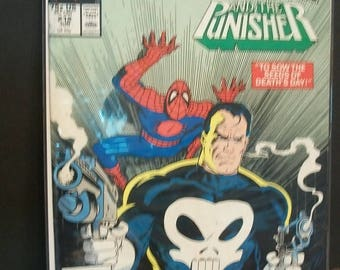 Marvel Tales Starring Spider-Man #212 The Punisher Good Condition Vintage 1988 Marvel Comic Book Reprint of Giant Sized Spiderman #4 Story