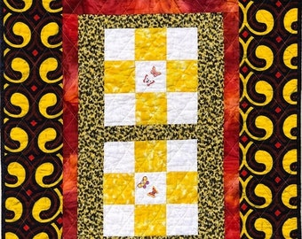 On Sale Sun Outside My Window 27x35 inch art quilt