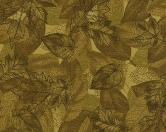 Timeless Treasures Leaf Toile Nature-C7203-Green