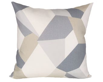 Urban Twist Oyster designer pillow covers - Made to Order