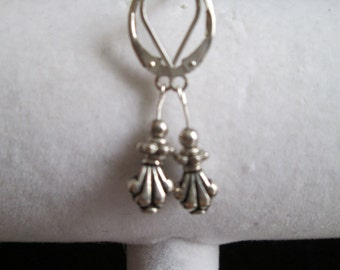 Bali Style Sterling Silver Earrings