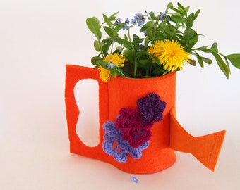 watering can planter/vase