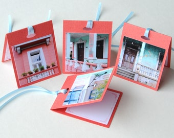 Photo Tent Gift Tags - Cuba