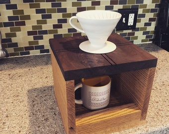 Walnut & Oak Single Drip Coffee Pour Over