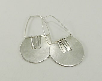Sterling Silver Fringe Earrings - E2430