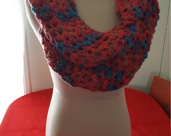 Bulky Infinity Scarf - Multicolored
